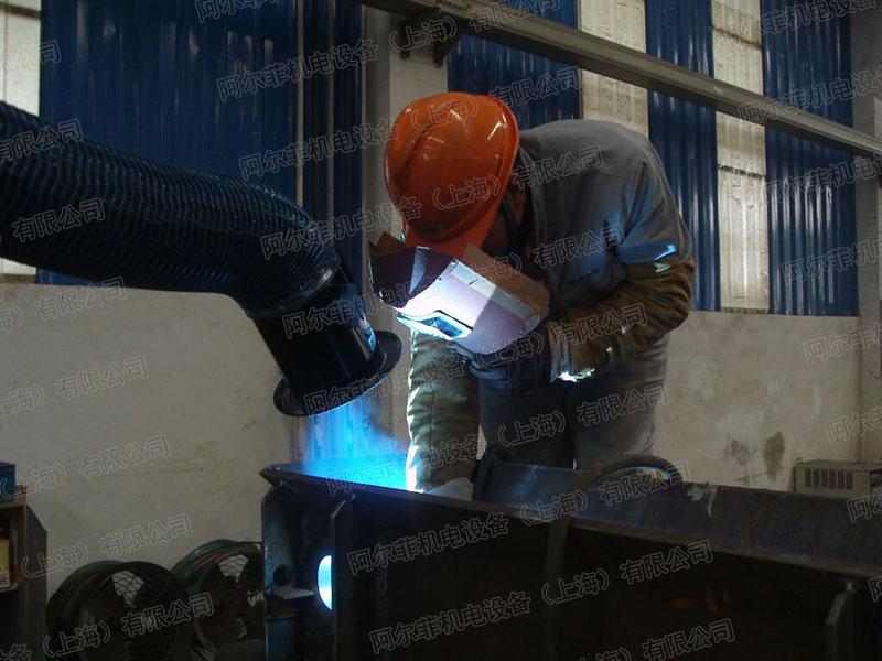 上海锅炉厂焊接烟尘净化工程案例