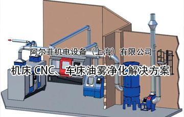 机床CNC、车床油雾净化解决方案