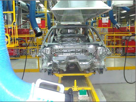 汽车行业焊接烟尘净化解决方案案例